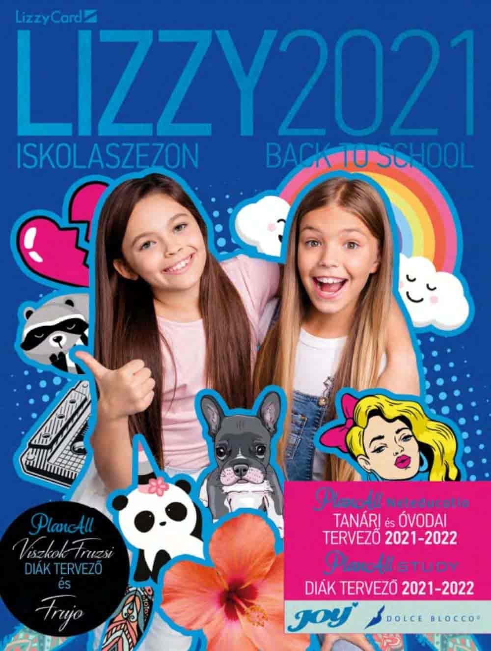 Lizzy Card iskolaszer katalógus 2021.